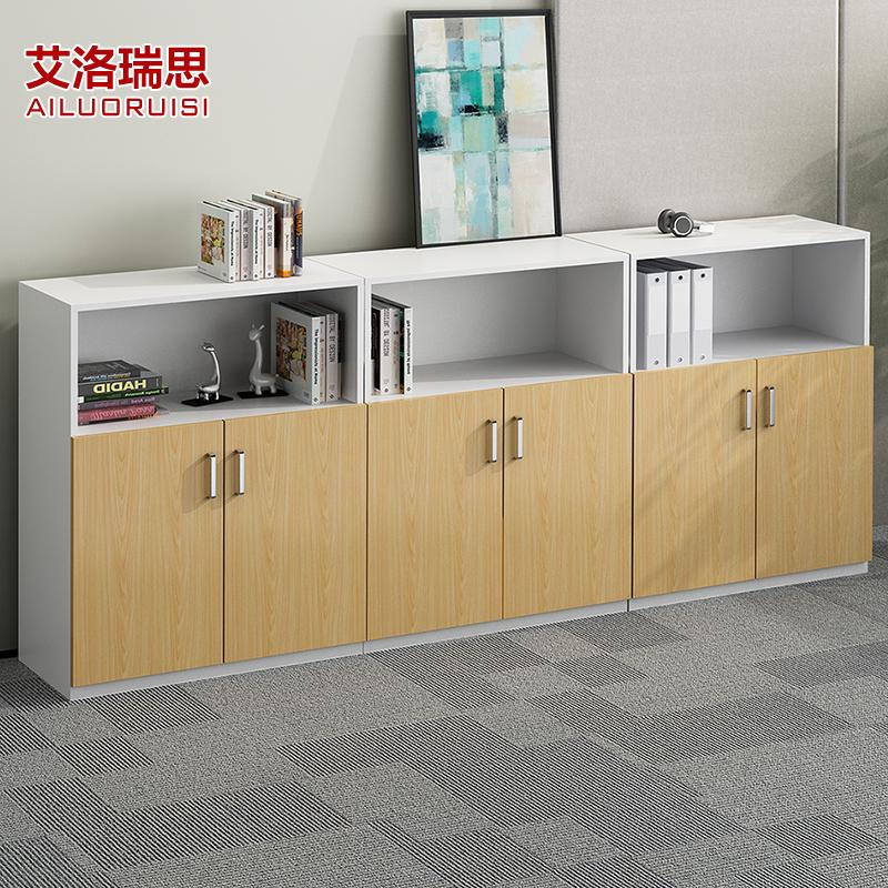 Nội thất văn phòng tủ hồ sơ gỗ thông tin tủ hồ sơ lưu trữ tủ ngắn tủ văn phòng tủ sách lưu trữ tủ trà