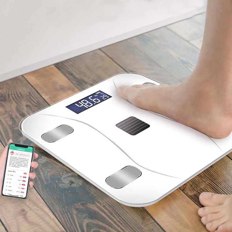 优乐蓝牙智能测体脂秤健康人体秤精准家用称电子秤体重秤成人减肥