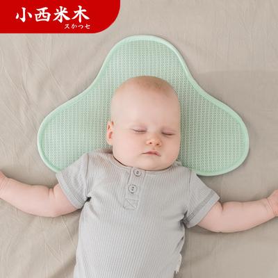 新生儿宝宝云片枕0-1岁夏季吸汗透气婴儿纠正头型定型枕巾云朵枕