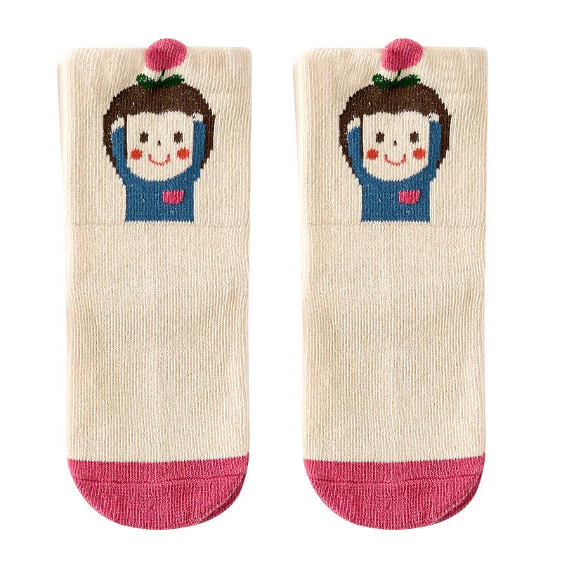 【薇娅推荐】男女儿童袜子宝宝秋冬季袜子可爱中长筒棉运动棉袜子