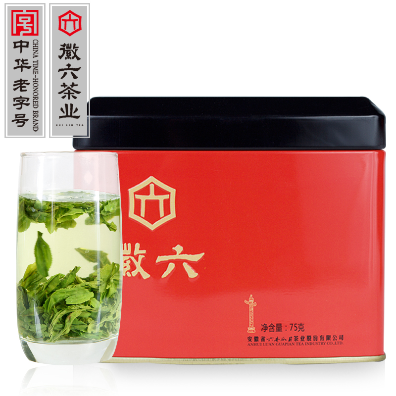 2018新茶 徽六頭采茶葉綠茶六安瓜片手工特一級春茶高山茶散裝75g