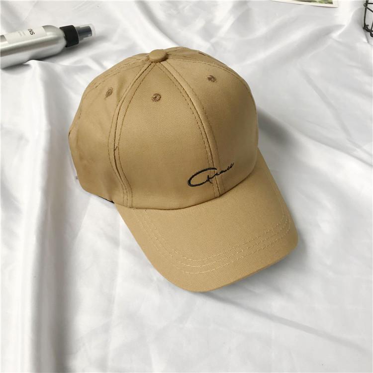 帽子女潮簡約刺繡鴨舌帽正版百搭學生街頭夏天男情侶棒球帽遮陽帽 【3C創意生活館-可開發票】
