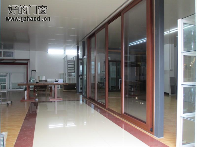 Раздвижная дверь Новый лимит неистовый тяжелую дверь раздвижная дверь раздвижная дверь балкон деревянное зерно цвет моста, 2. 0 толщиной более ограниченного времени