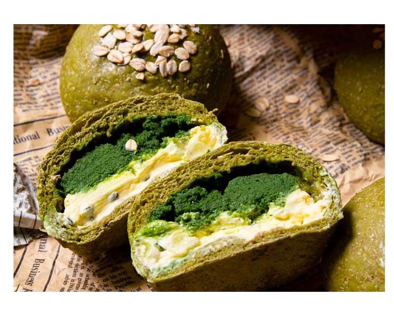 全麦欧包抹茶奶酥百香果奶酪珍珠杂粮早餐代餐饱腹健身零食面包详细照片