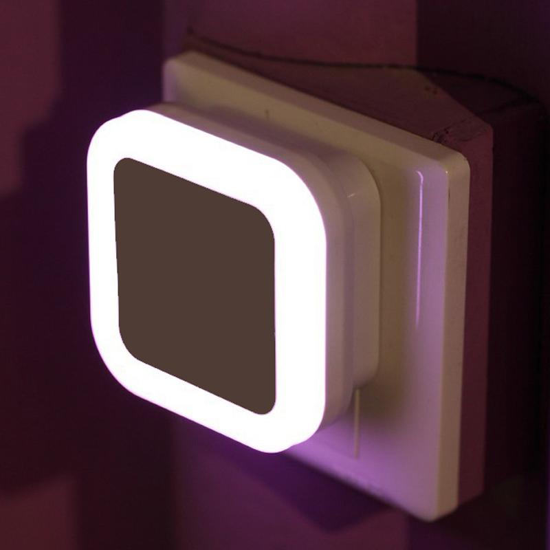 创意led小夜灯光控声控感应卧室床头插电遥控迷你婴儿喂奶起夜灯