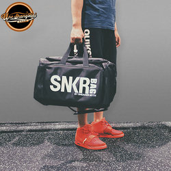 University of North Carolina SNKR BAG BY SNEAKER MYTH basketball sneaker storage travel bag sports bag