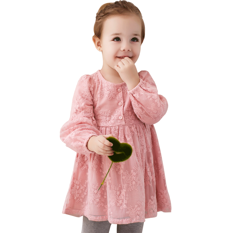 USD 7099 Baby Spring And Autumn Princess Dress 1 3 A 5 Years Old