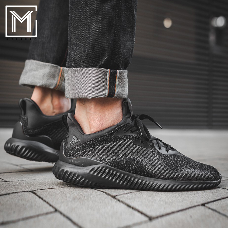 Clearance Low Price Fee Shipping Running Alphabounce Trainers In Black DB1090 - Black adidas Buy Wiki Brand New Unisex Cheap Price Discounts vdun5u71