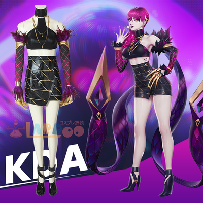 taobao agent 【Lardoo】League of Legends kda girl group cos Evelyn cosplay game costume