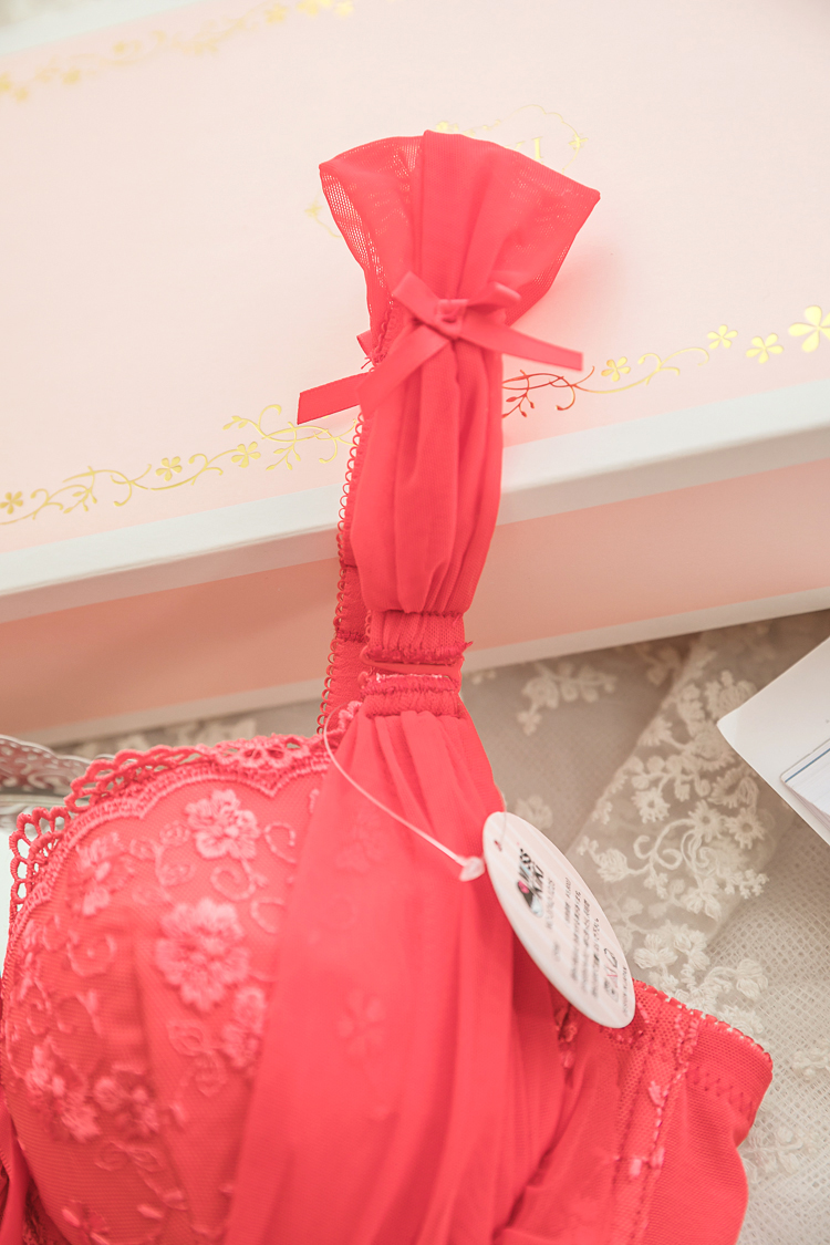 b7d830e781 ... lightbox moreview · lightbox moreview. PrevNext. This year s red bra  set underwear large size fat mm thin section gathered sexy lace ...
