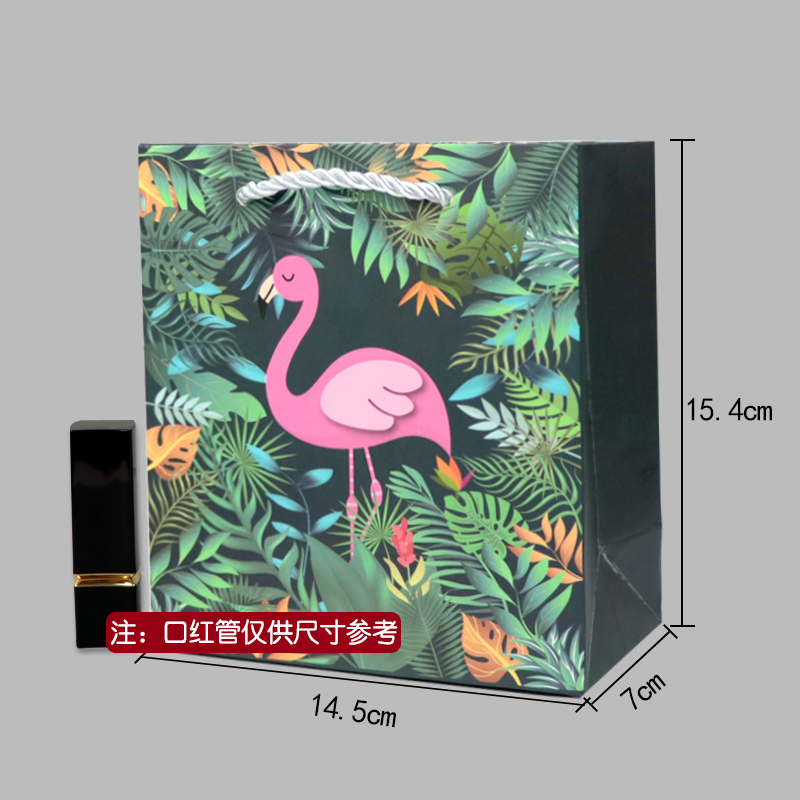 WHITE [FLAMINGO GIFT BAG]