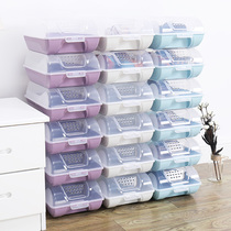 Chen Ning six shoe box third generation creative storage shoe box Transparent finishing