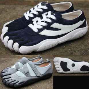Шип ! подлинный пальцы обувной воздухопроницаемый на открытом воздухе восхождение фитнес подъем рок обучение бег носок обувной красный достаточно спортивной обуви