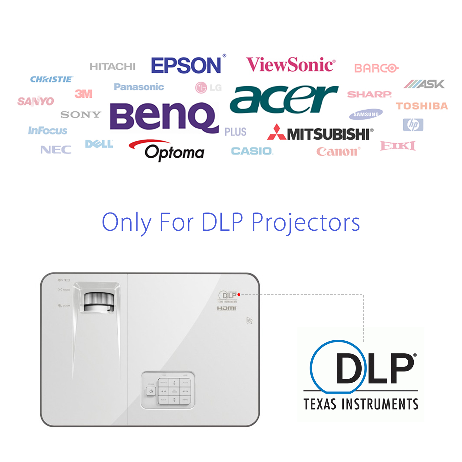 Mitsubishi Wd 73833: RX-30S DLP-Link Projector HD LCD Active Shutter 3D Glasses