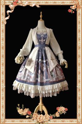 taobao agent 【Infanta. Infanta】Spot LOLITA original print*Angel choir*JSK one-piece dress