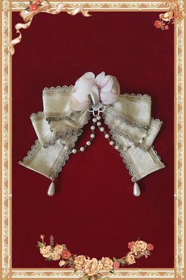 taobao agent Infanta. Baby Fan Tower Spot LOLITA Flower Bead Chain Brooch Lolita Accessories DIY Handmade Small Objects