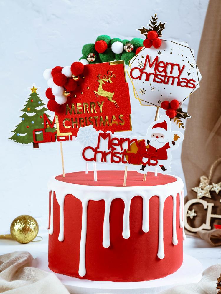 Yeezy день торт украшения маятник украшения Yeezy Дерево Муз Yee's старик подарок снеговик плагин-в карты выпечки партии