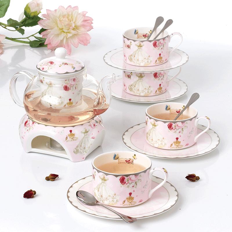 Ароматный чай чайный сервиз повар фрукты чайник керамика континентальный пузырь фрукты ароматный чай горшок домой днем чайный сервиз ароматный чай чашка