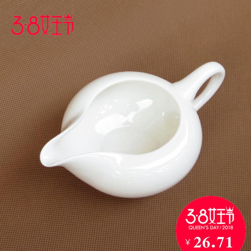 Стеклянные заварочные чайники Минг Чэн подлинные Дэхуа фарфор Белый чашка ярмарка керамический чайные сервизы Кунг-Фу термостойкой чай очки могут быть настроены