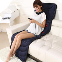 Multifunctional massage mattress neck and shoulder waist vibrator full body health care equipment