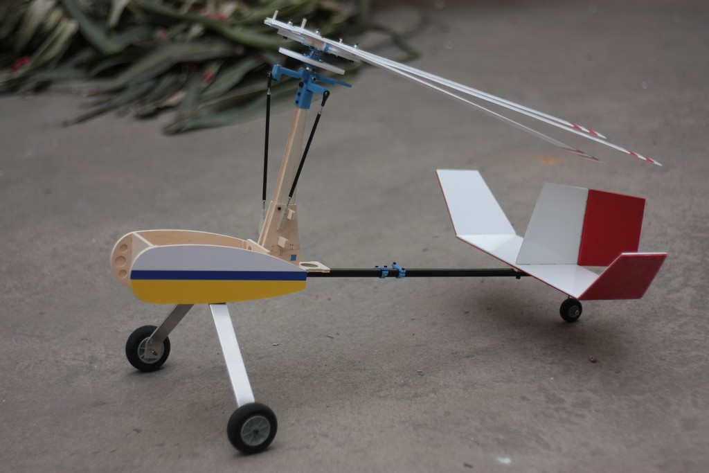10A RC Autogyro/ Gyroplane/ Helicopter/ Airplane KIT model