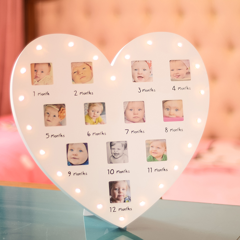 Usd 3966 Baby One Year Old Photo Frame Childrens Growth Record 12