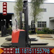 Full electric hydraulic forklift automatic Stacker car battery handling Car Lifting Equipment