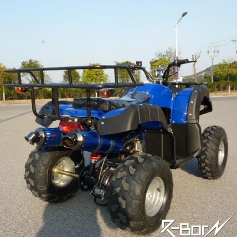包邮125cc双人座8寸双铝排大公牛沙滩车四轮越野摩托车沙滩越野