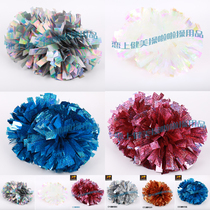 Laser material Environmental Protection professional cheerleading game Flower ball balls