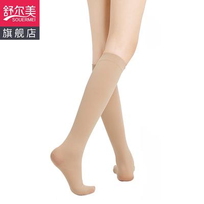 医用静脉曲张弹力袜裤袜辅助治疗医疗型男护款女弹性祙薄款舒尔美