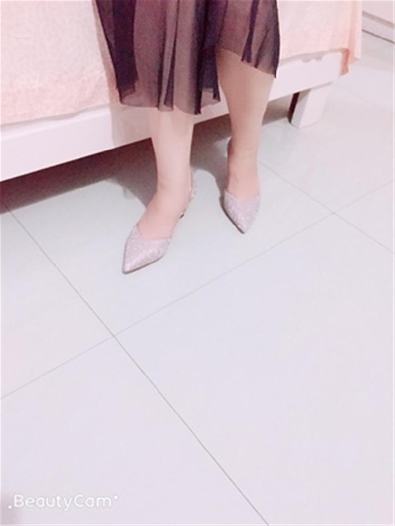 亮片高跟鞋,做最闪亮的女王9