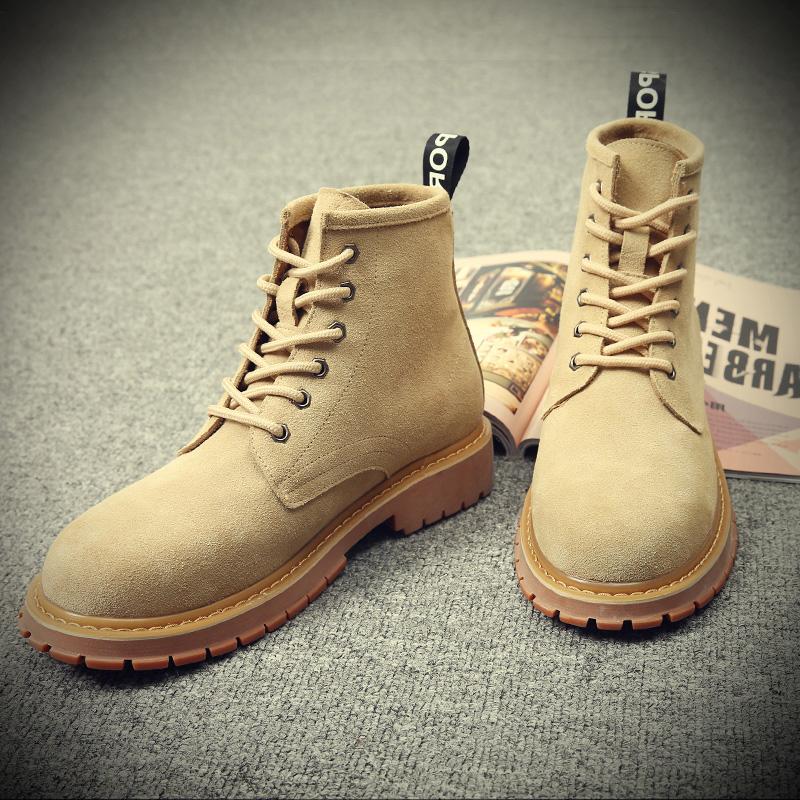 Война волк 2 в этом же моделье обувной мужской мартин сапоги помощь мужская обувь весна скраб британская мода дикий корейская волна мужчина ботинки