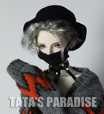 taobao agent 6 points 4 points 3 points Uncle BJD.SD.DD baby accessories, ghost animals, doll cos mini mask-black version
