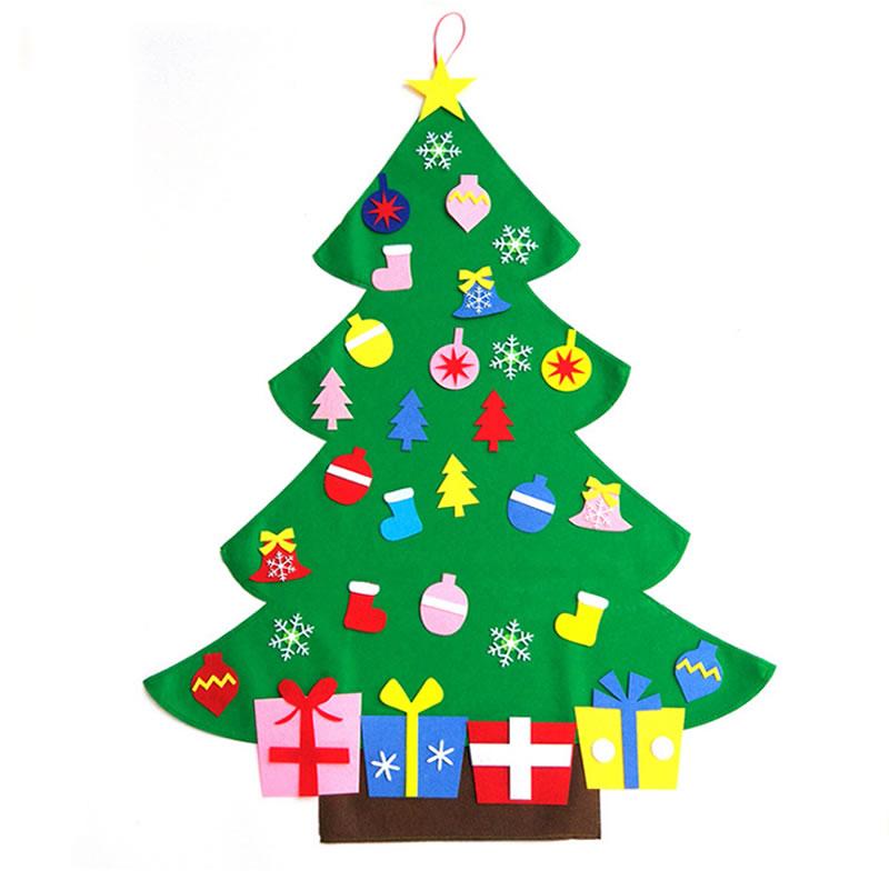Large 3FT Wall Hanging Felt Christmas Tree Kit-Childrens ...
