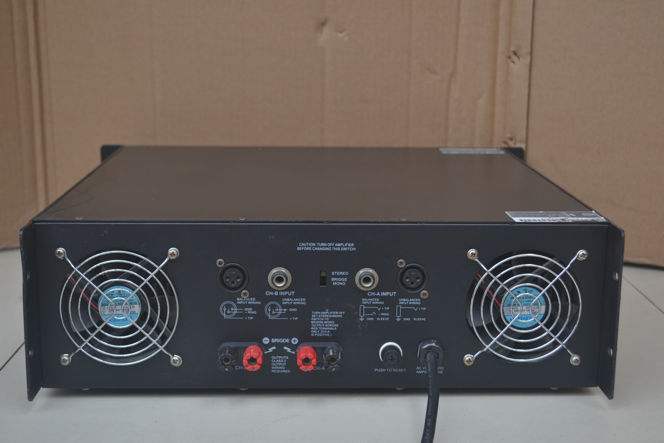 Usd 20589 Used Amplifier Enb Brand Sp 600 Stage Performance Audio 600w Lightbox Moreview