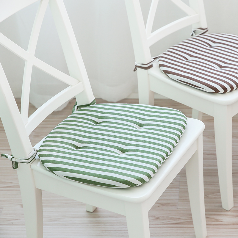 computer chair seat cushion. Chair Cushion Student Solid Wood Stool Dining Computer Seat Pad Thick Butt Mat With Strap U