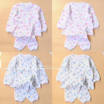 Loss children's clothing spring and autumn new children's underwear set autumn clothes pants boys and girls cotton home service pajamas