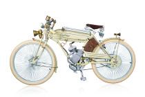 Craftsman 1924 Custom Retro Booster scooter Pedal self-propelled bike