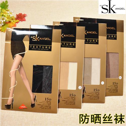 6条包邮SKangelSK丝袜15D正品连裤袜超薄透明性感加档脚尖8951