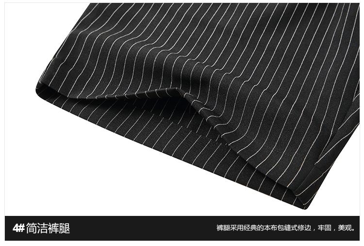 Hàn quốc phiên bản của xu hướng phong cách Harajuku loose sọc quần quần short bé trai Hàn Quốc ulzzang cổng gió năm quần