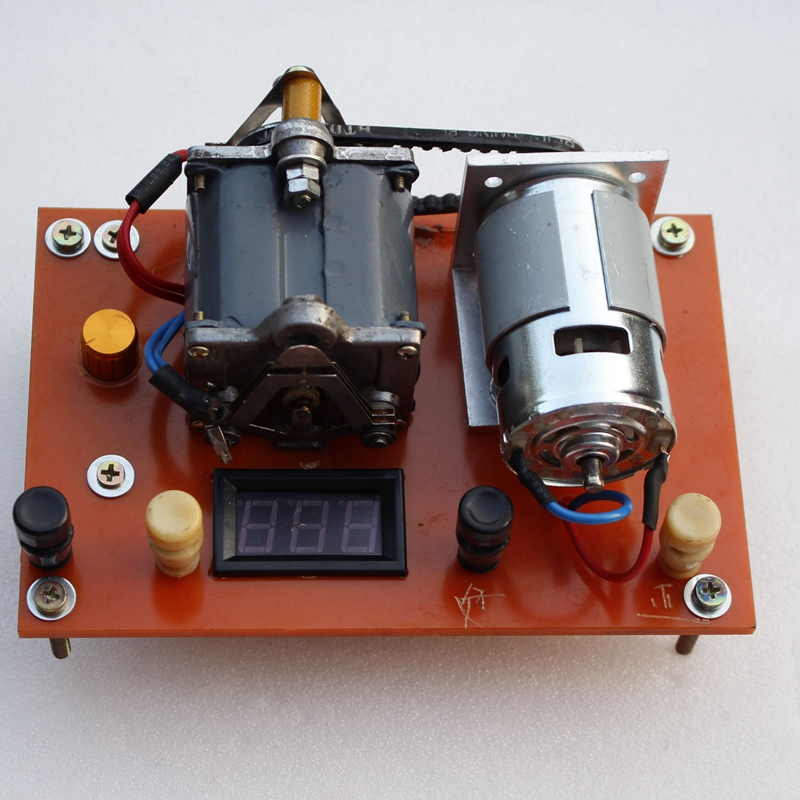 Винтажный магнитный телефон с рукояткой обновленная Электрический генератор ручного кривошипа находит счастливую детскую желтую шипучую рыбу