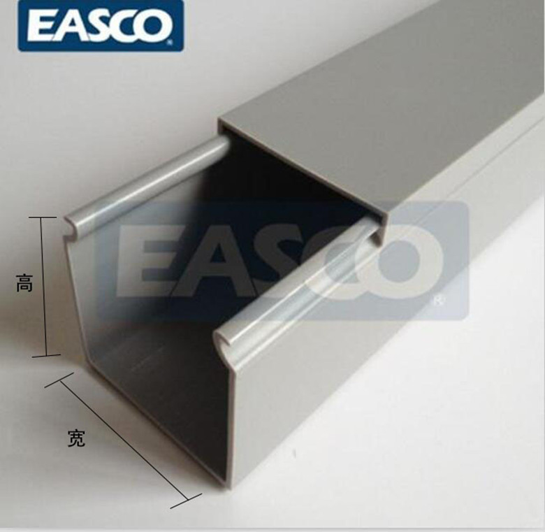 Astonishing Usd 11 89 100 120Easco Insulated Grey Wiring Duct Pvc Wire Duct Wiring 101 Hisonstrewellnesstrialsorg
