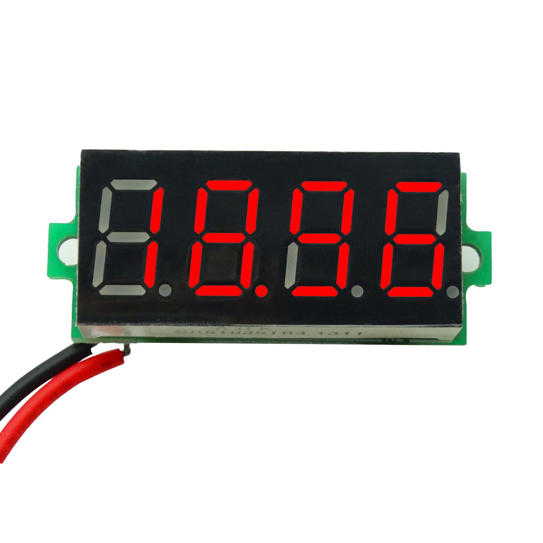 STM8 господь контроль ! превышать три половина мультиметр 3.5-30.00V две линии цифровой / digital power манометр глава
