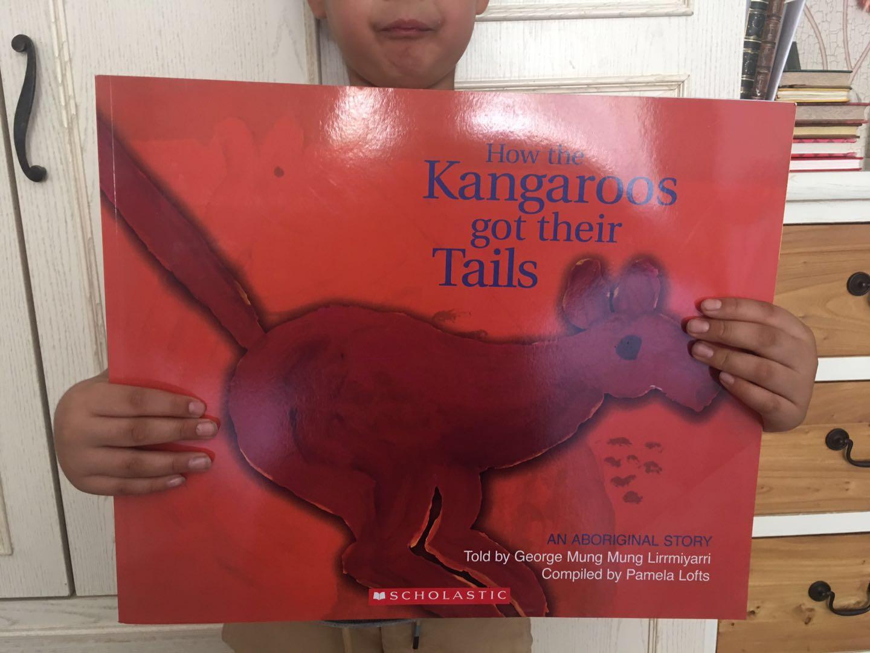 44CM大地板書 名家名社名品 how the kangaroo got its tail 必讀