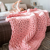 Nordic Knitted Blanket