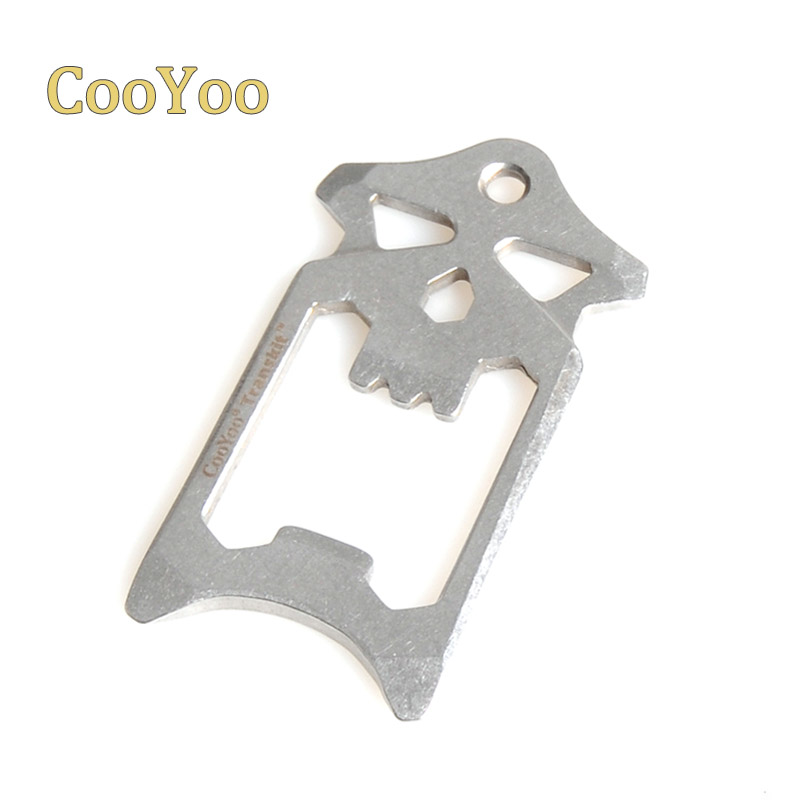 CooYoo SK1 EDC Multi-Tool Multi-Purpose Carry Tool Screwdriver Bottle Opener Wrench Function.