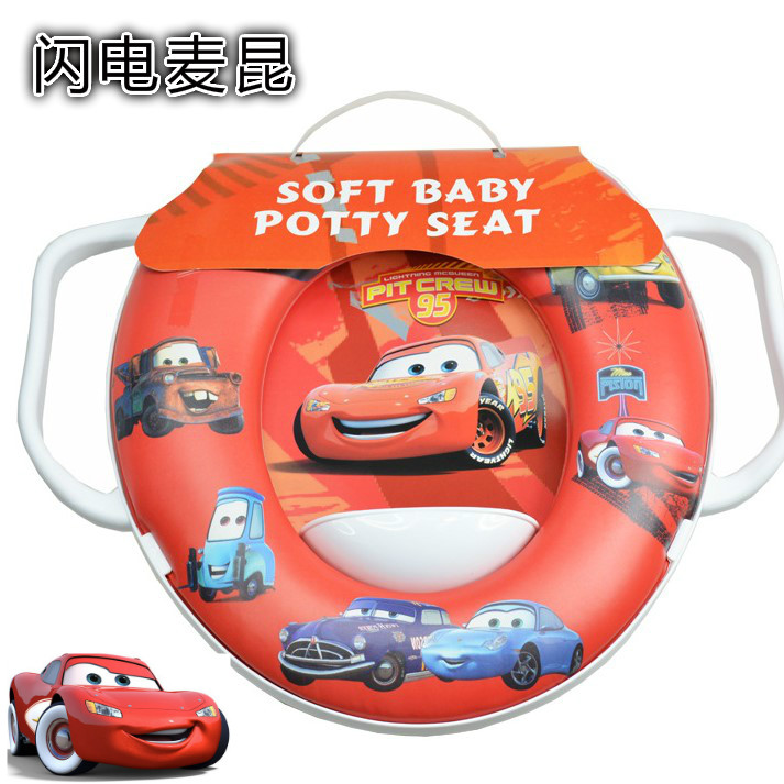Phenomenal Usd 10 40 Red Crown Children Toilet Seat Soft Cover Cars Machost Co Dining Chair Design Ideas Machostcouk