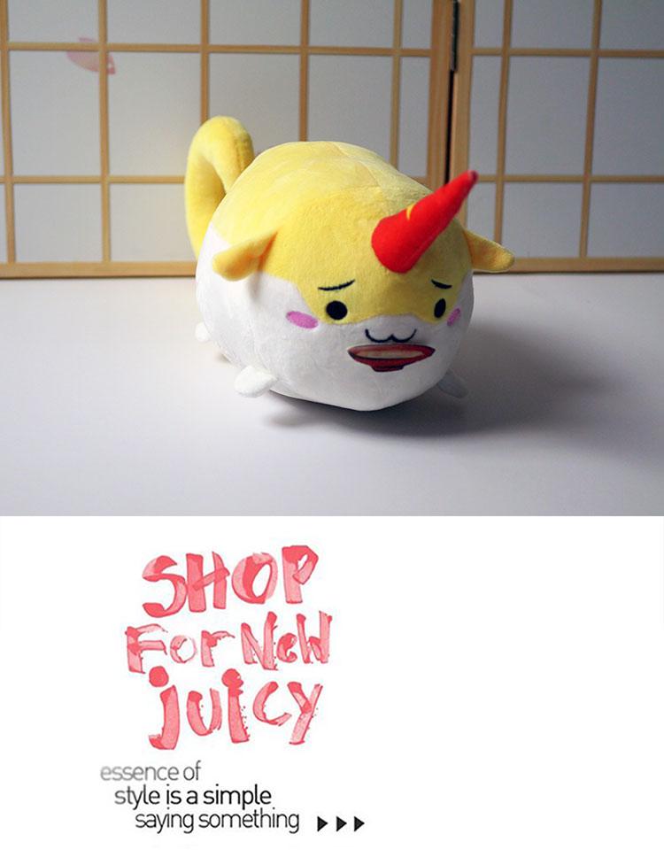Details about  /Anime Touhou Project Hoshiguma Yuugi Plush Doll Soft Stuffed Toy Gifts 26CM