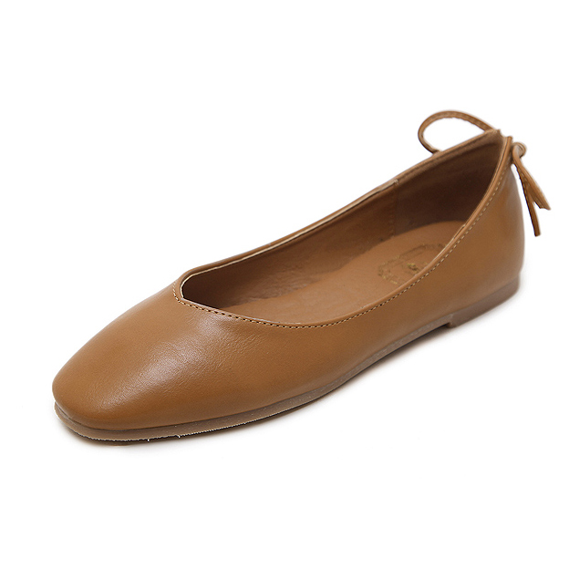 Ladies flat shoes - brown's main photo