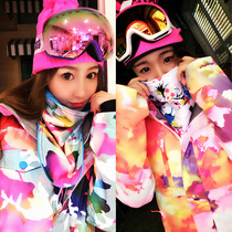 Korea clearance purchasing Ski Equipment Korean version export Japanese ski suit